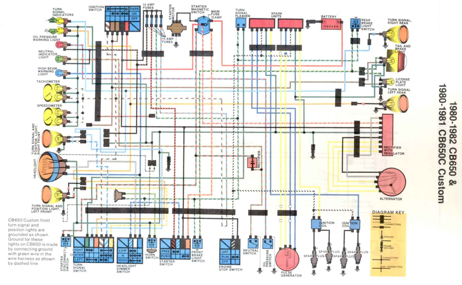 WD650 cb650 Wiring Harness Diagram at soozxer.org